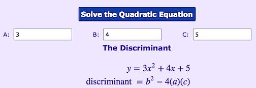solvequadratics